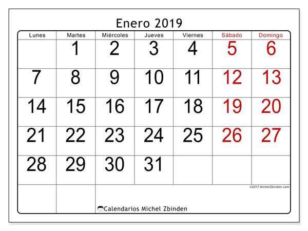 Calendario Enero 2019 62ld Altube Asociación Universitaria